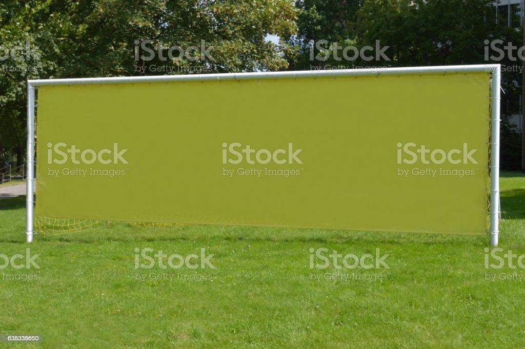 Fußballtor stock photo
