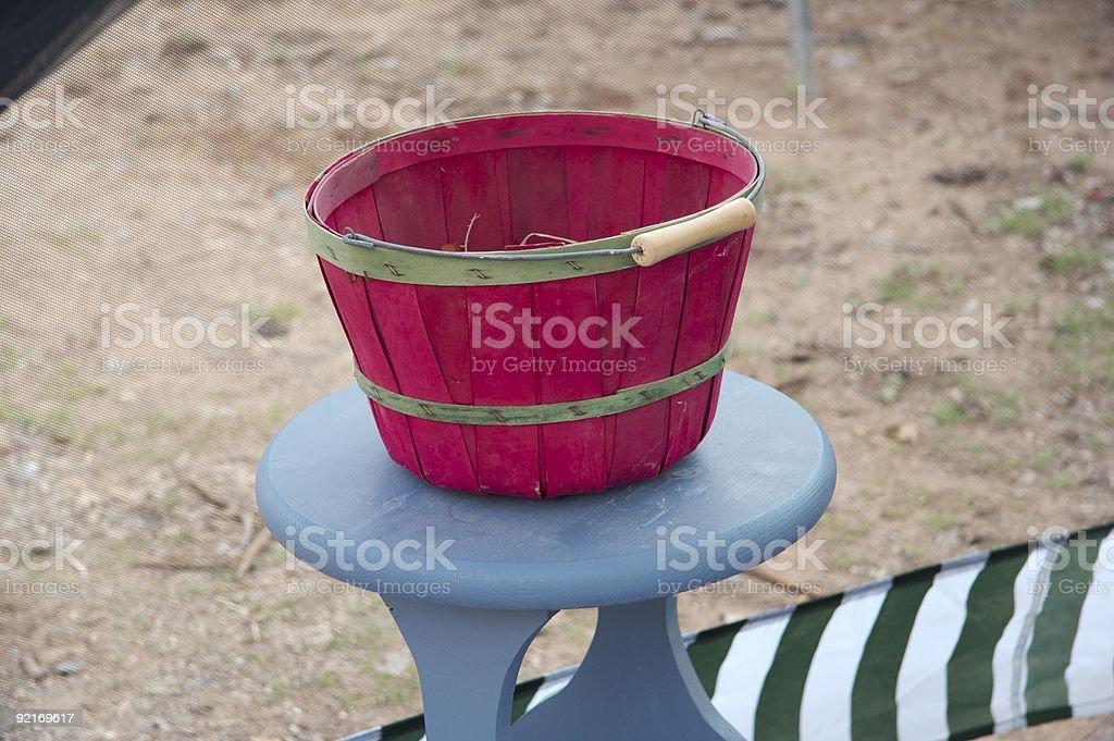 Fuchsia Basket royalty-free stock photo