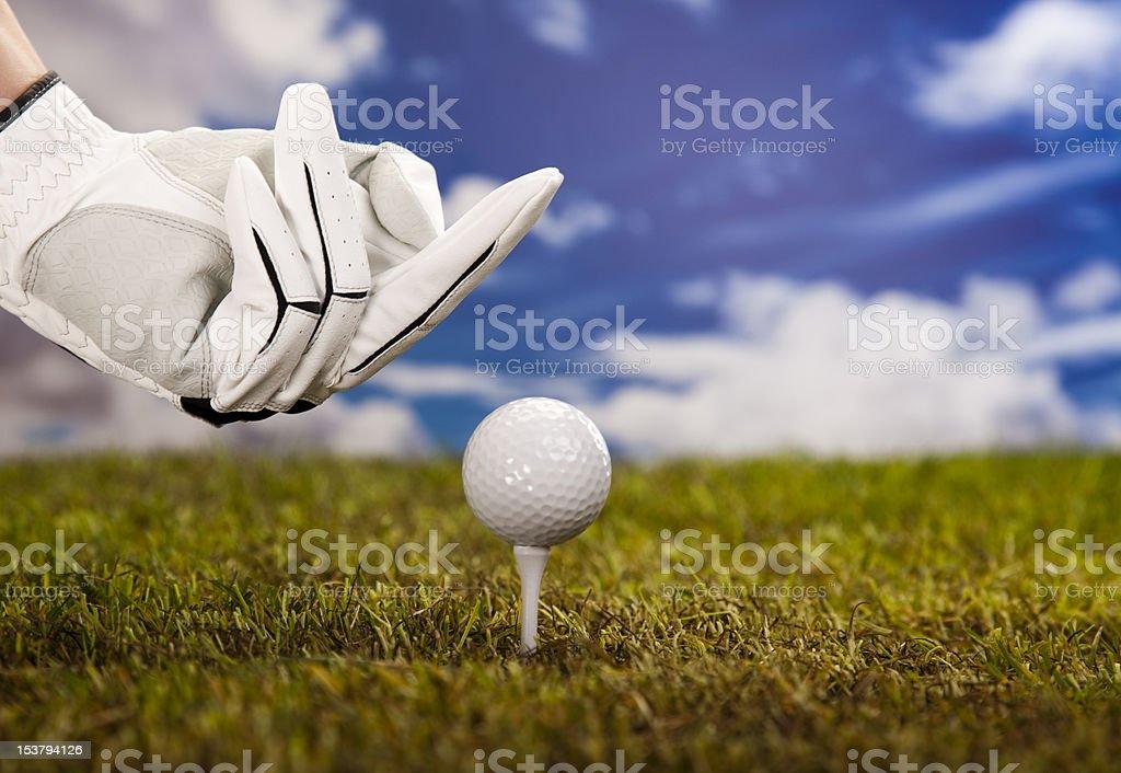 Fuck golf royalty-free stock photo