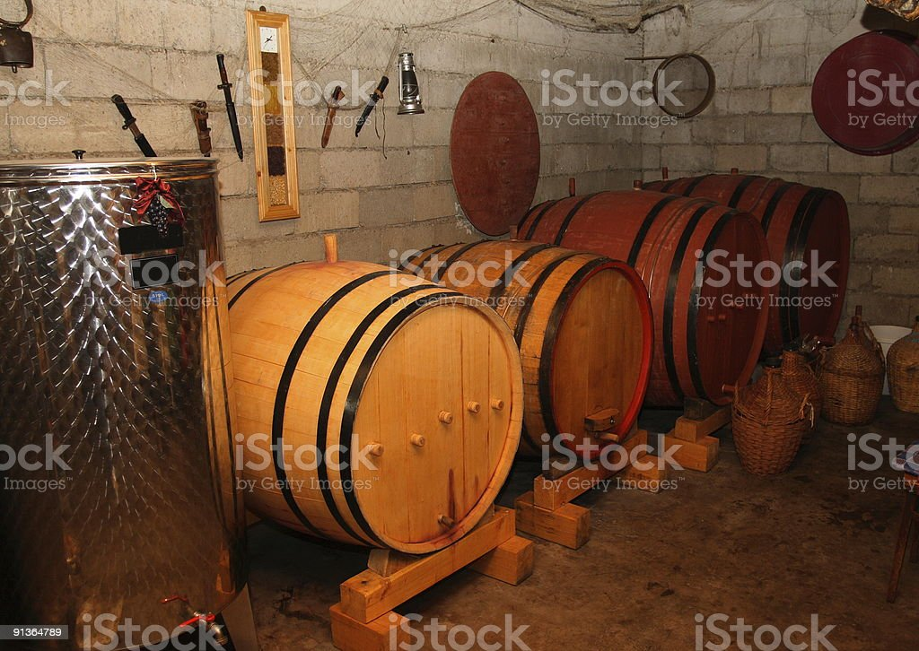 fudders with wine. royalty-free stock photo