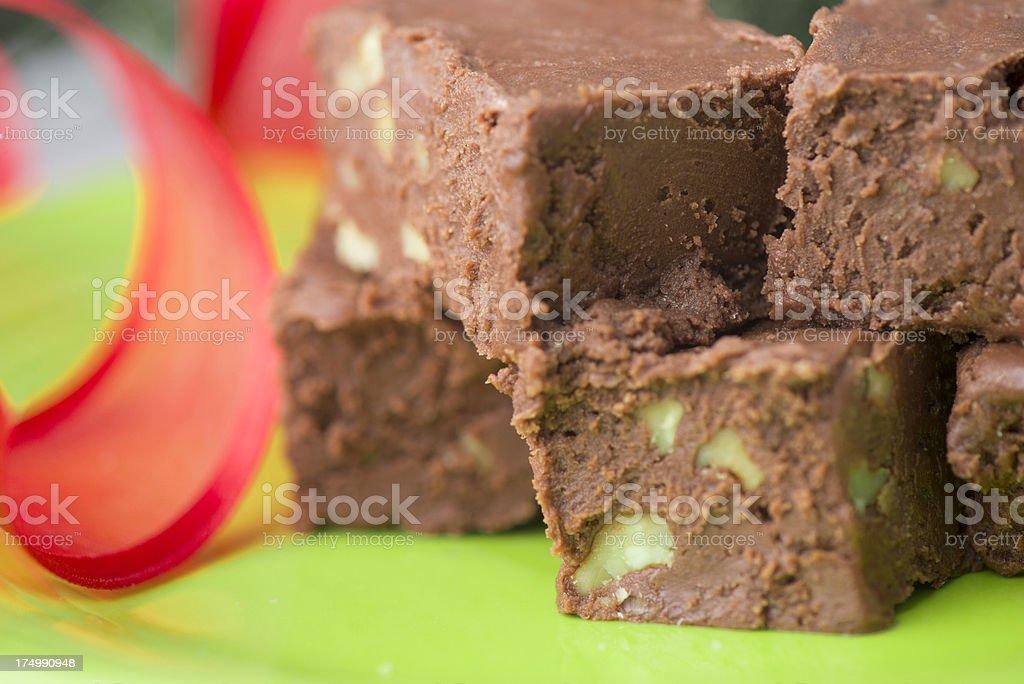 Fudge royalty-free stock photo