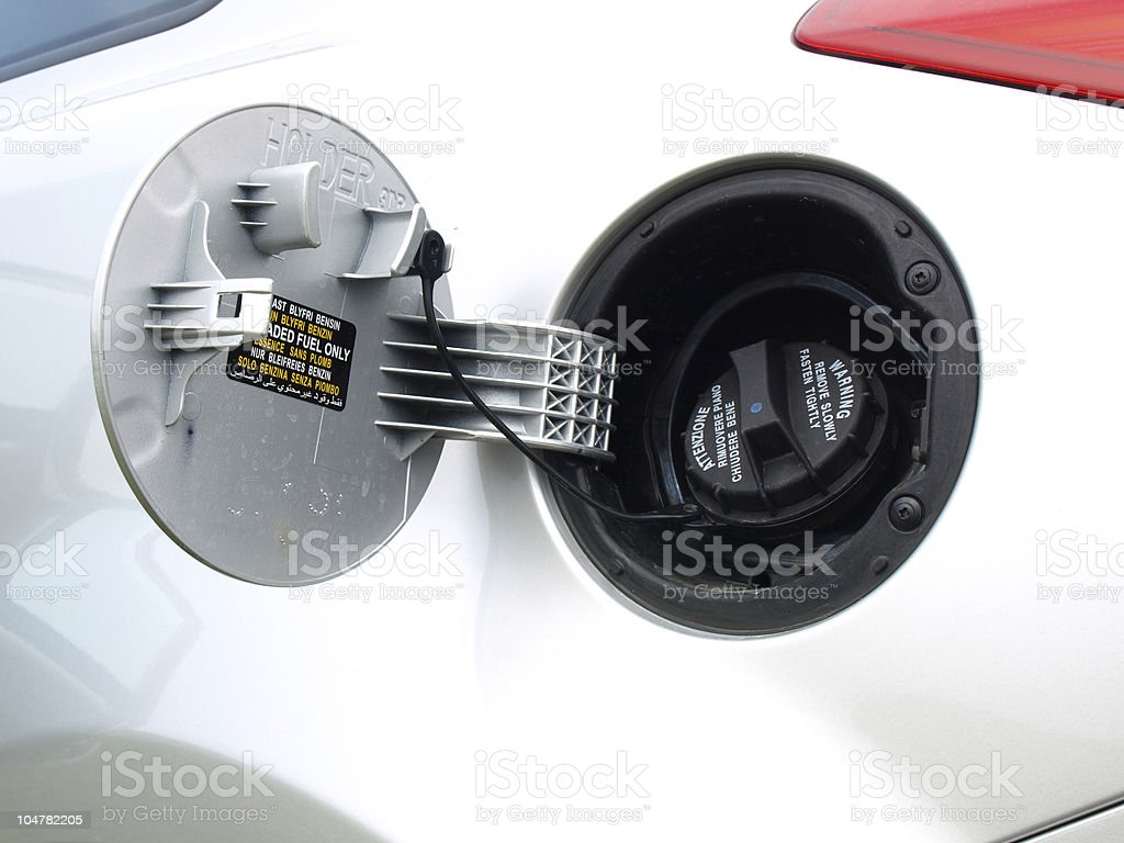 Fuel cap stock photo