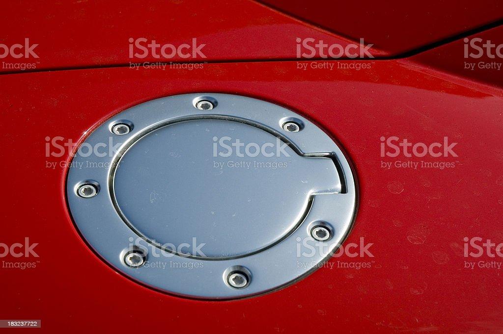 Fuel cap royalty-free stock photo