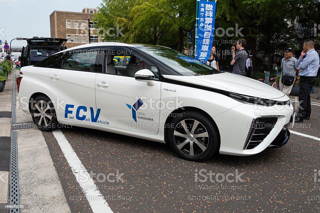 "Fuel Cell Vehicle ""Mitai"" of Toyota stock photo"