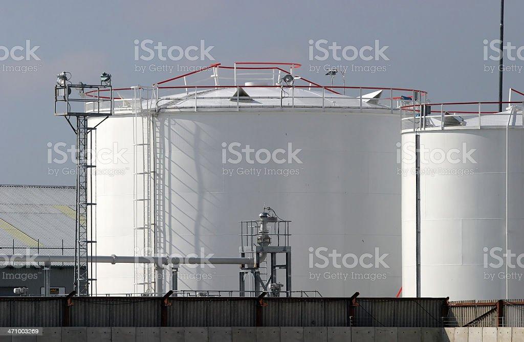 Fuel Depot royalty-free stock photo
