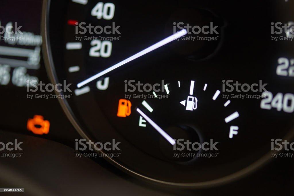 Fuel economy theme stock photo