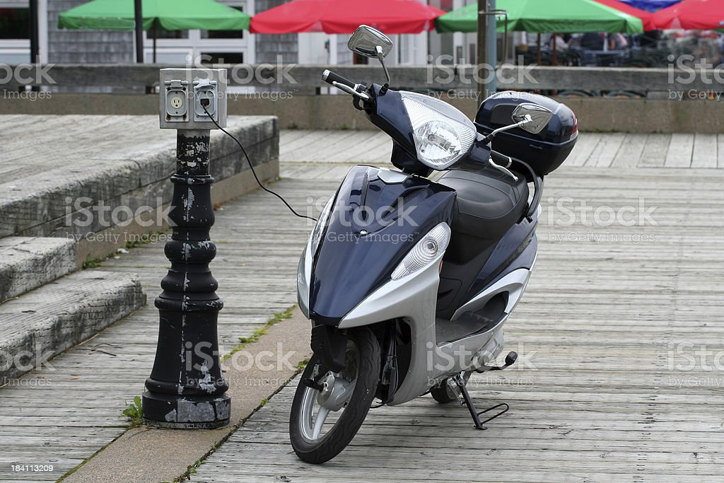 Fuel Efficient Transportation royalty-free stock photo
