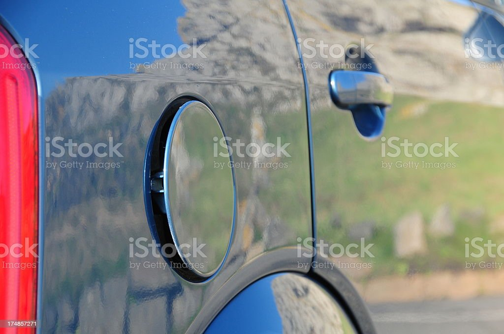 Fuel filler cap. royalty-free stock photo