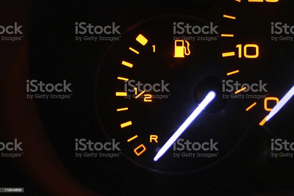 Fuel Level royalty-free stock photo