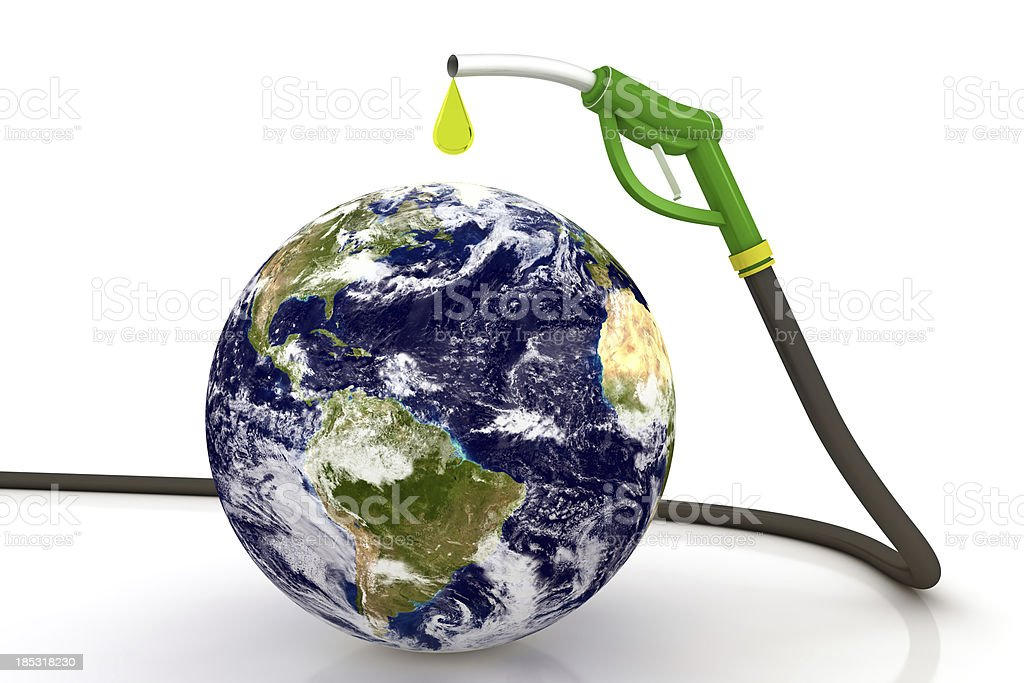 Fuel on Earth stock photo