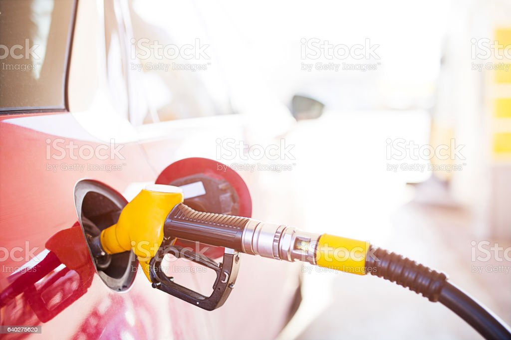 Fuel pump stock photo