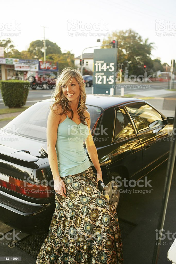 Fuel Stop royalty-free stock photo