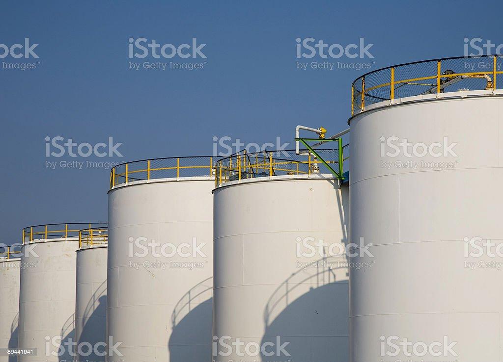 Fuel storage 3 stock photo