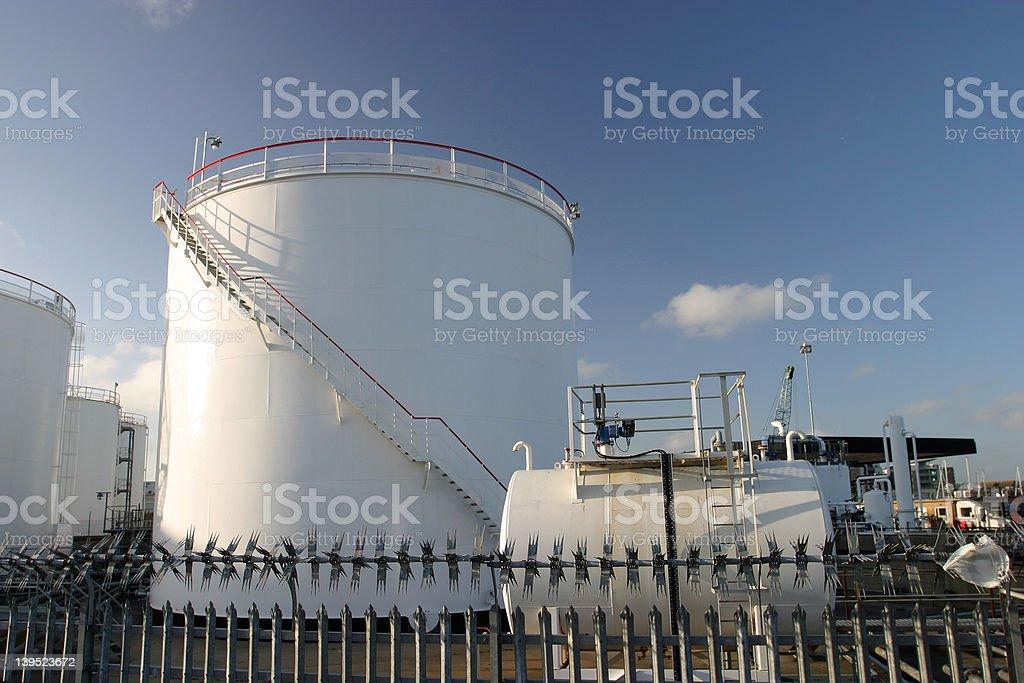 Fuel Storage royalty-free stock photo