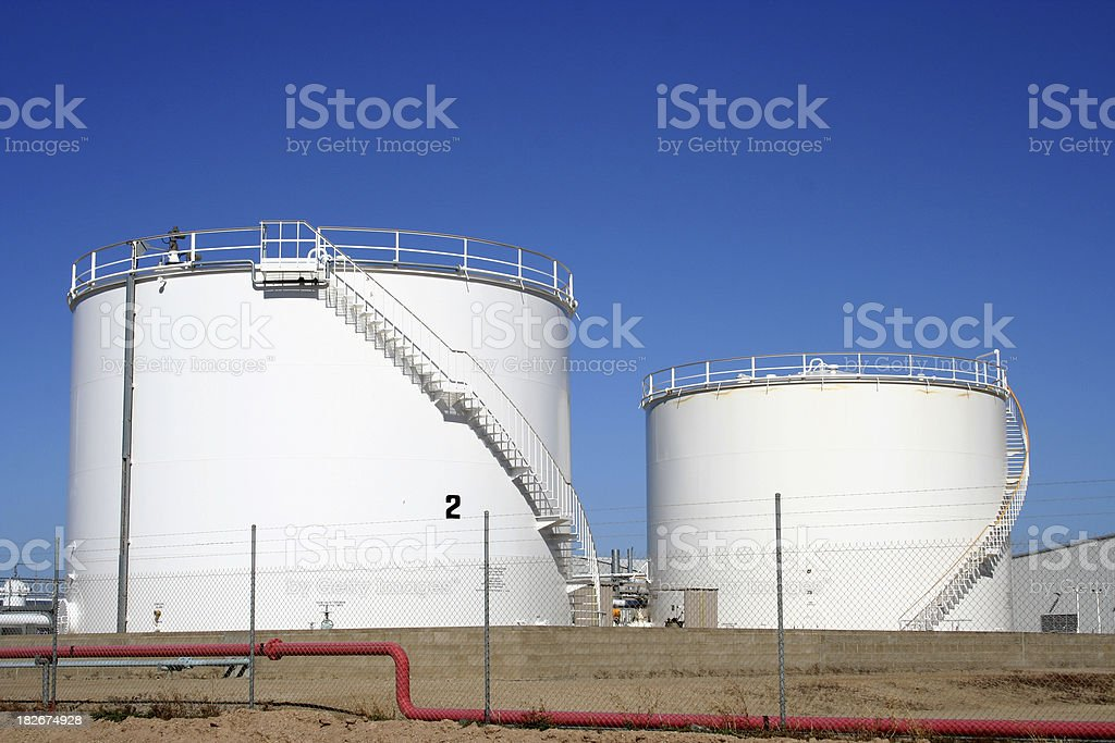 Fuel storage royalty-free stock photo