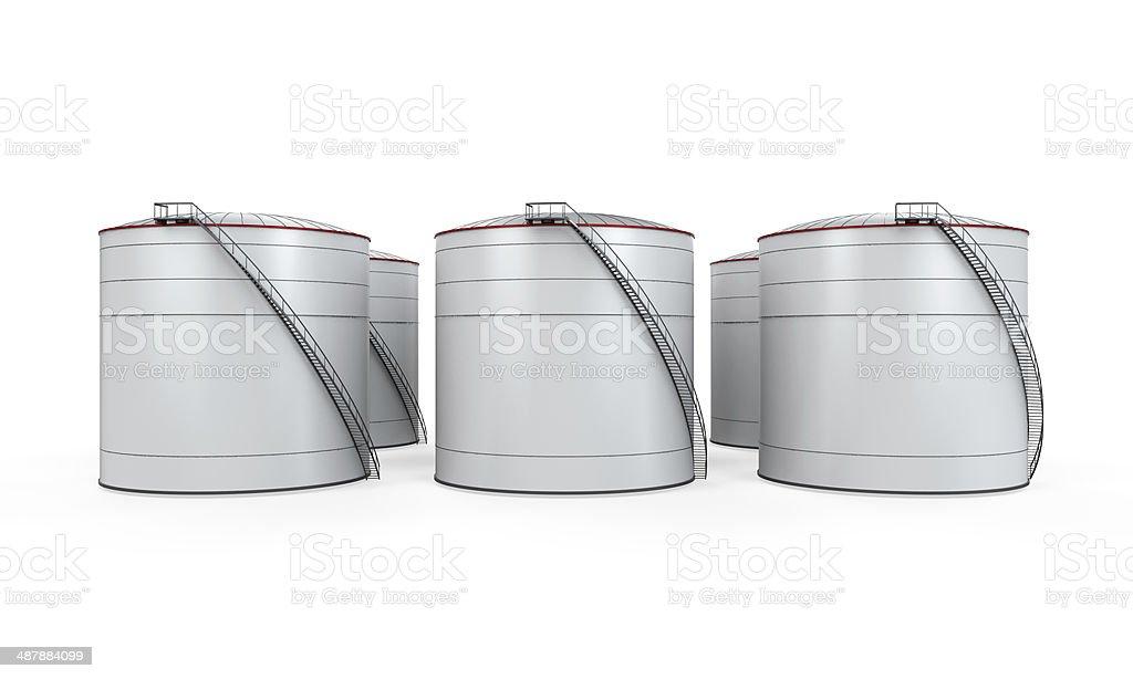 Fuel Storage stock photo