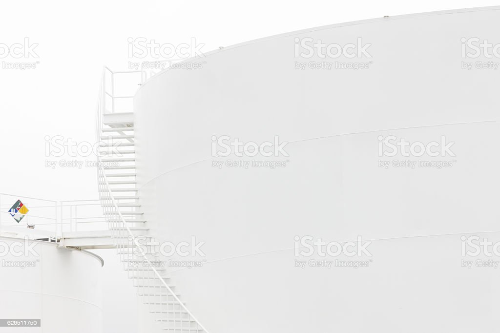Fuel Storage Tank Oil Gas Industry Refinery stock photo
