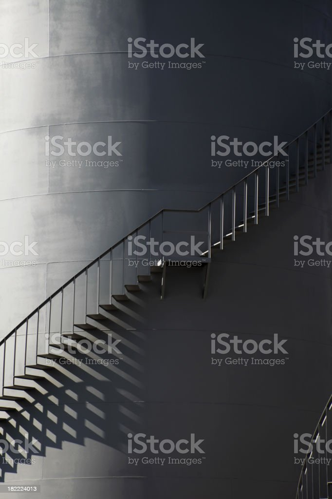 Fuel Storage Tank royalty-free stock photo