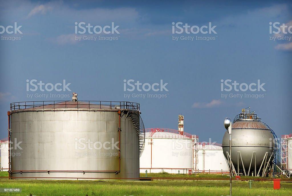 Fuel Storage Tank royalty-free stock photo