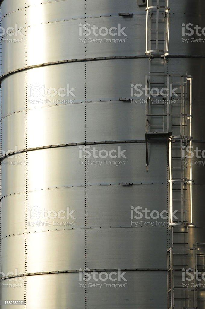 Fuel storage,Jersey. royalty-free stock photo