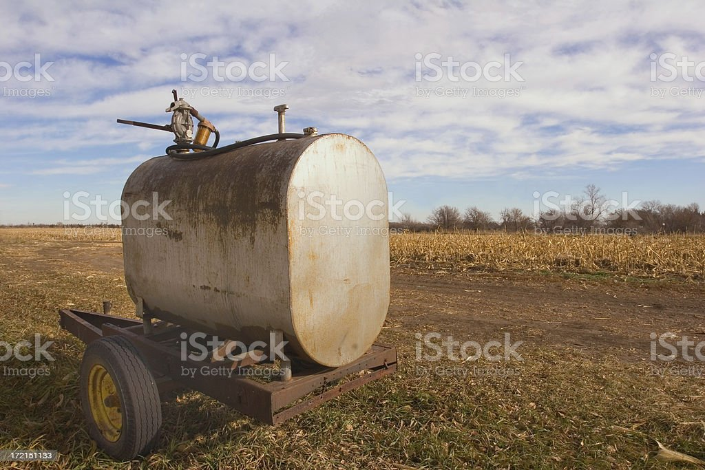 Fuel Tank royalty-free stock photo