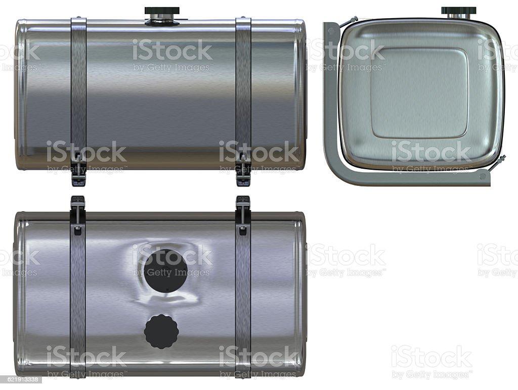 Fuel tank stock photo