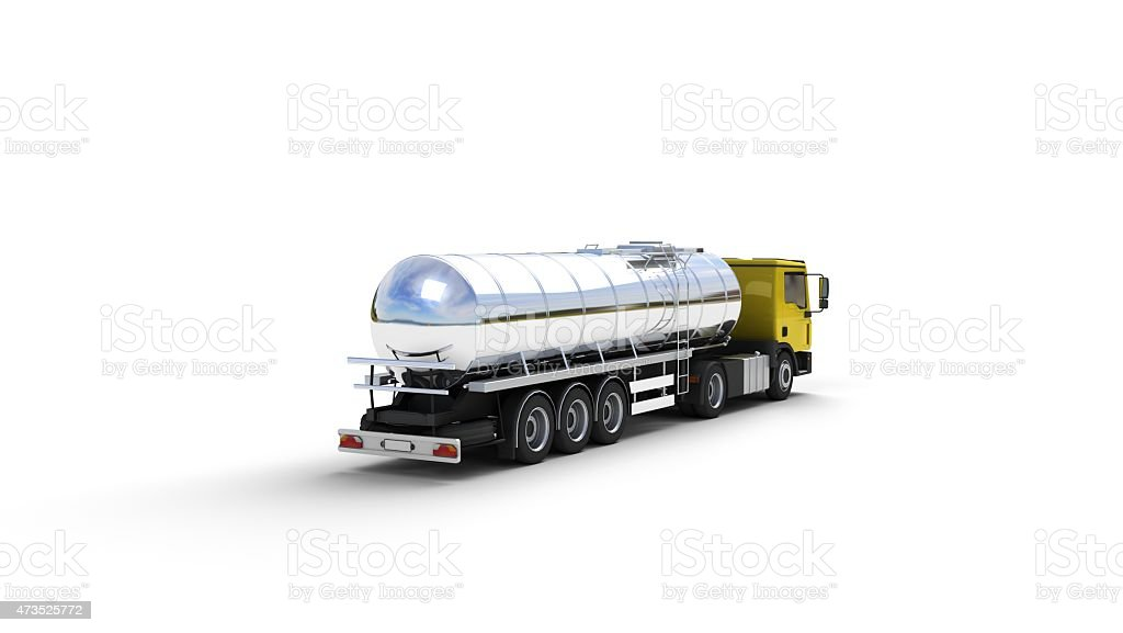Fuel Tanker stock photo