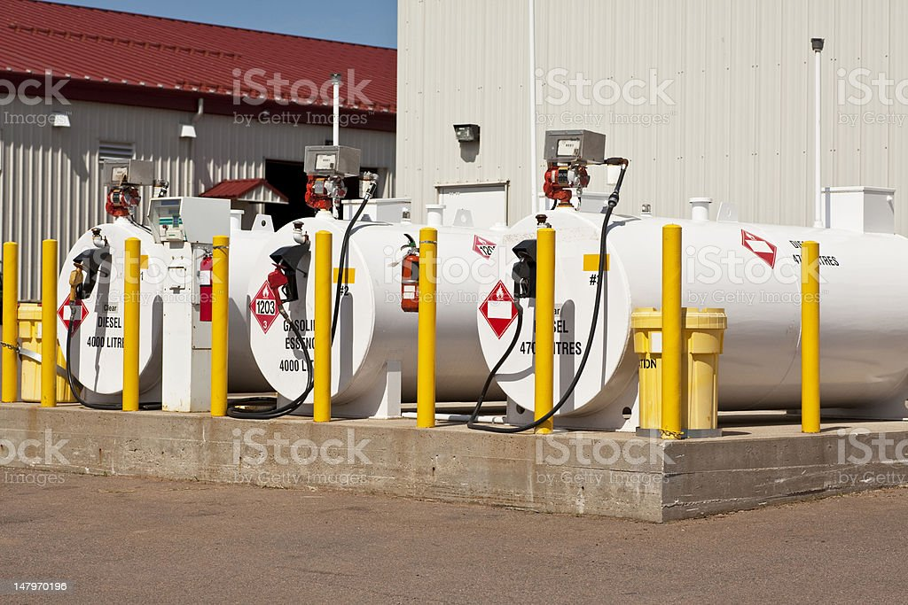 Fuel Tanks stock photo