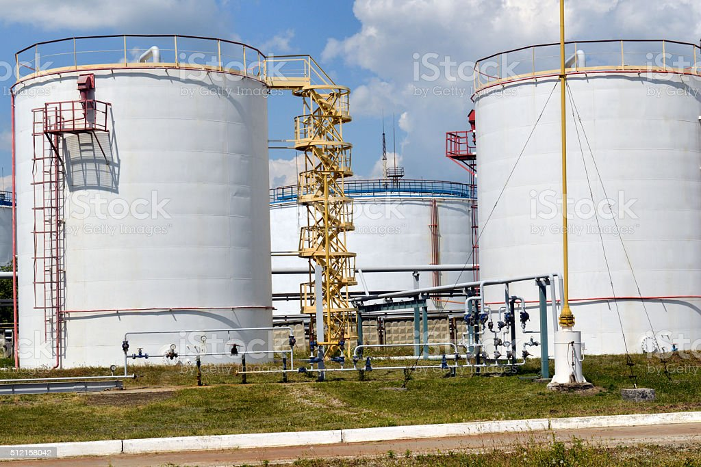 Fuel Tanks stock photo