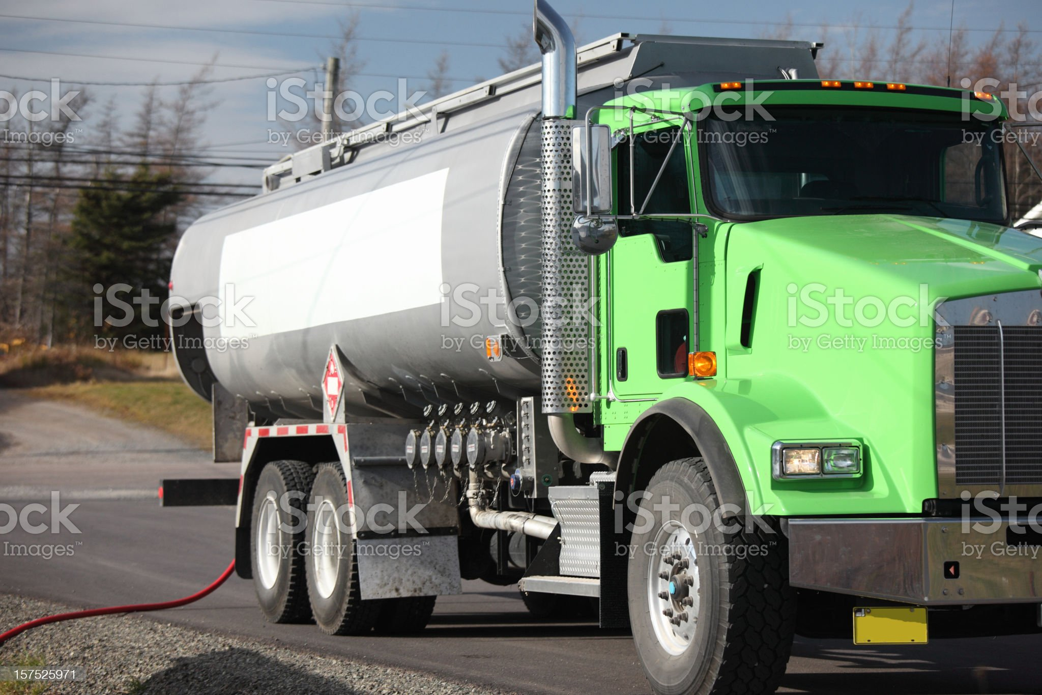 Fuel Truck royalty-free stock photo