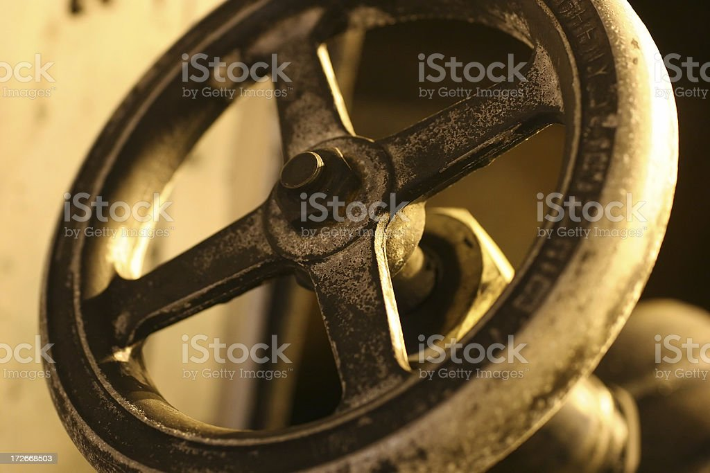 Fuel Valve royalty-free stock photo