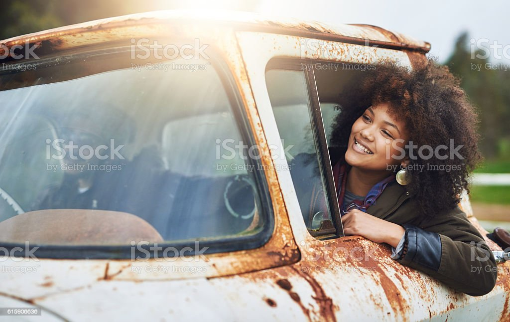 Fueled by imagination stock photo