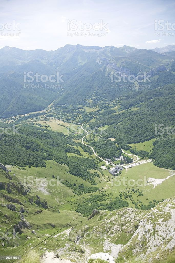 Fuente De from top royalty-free stock photo