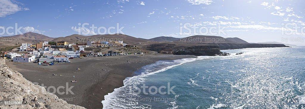 Fuerteventura - Ajuy - Panoramic view royalty-free stock photo