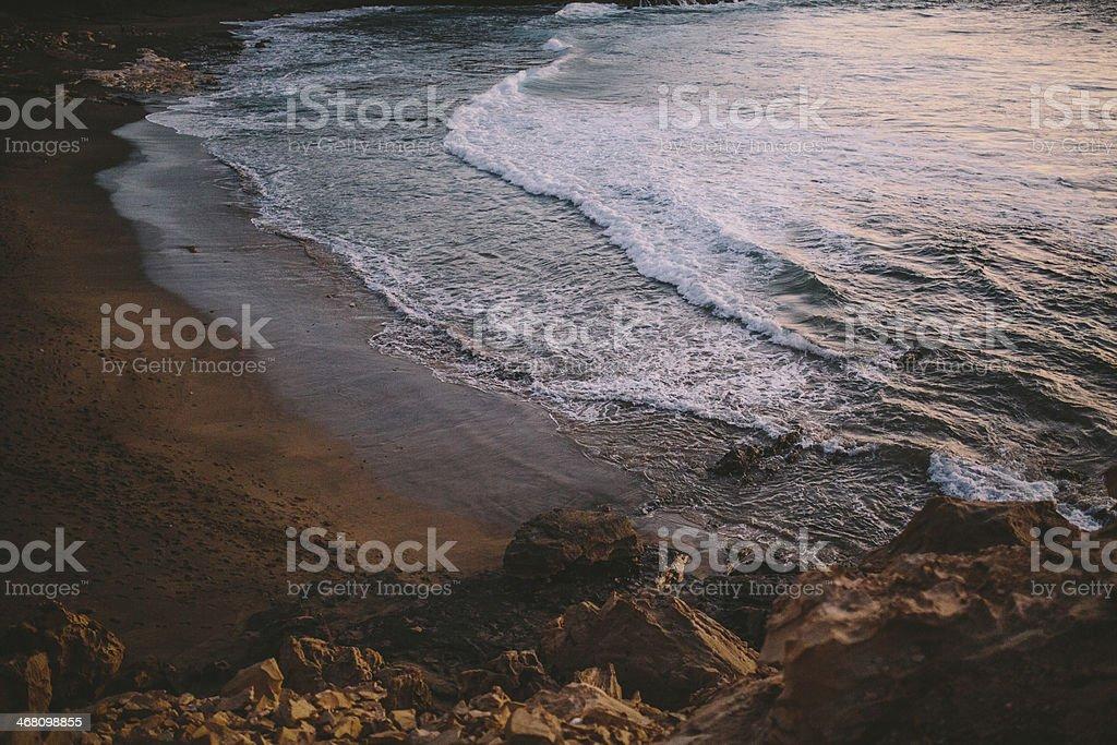 Fuerteventura Beach stock photo