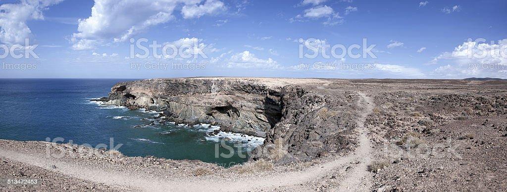 Fuerteventura - Caleta Negra in the north of Ajuy royalty-free stock photo