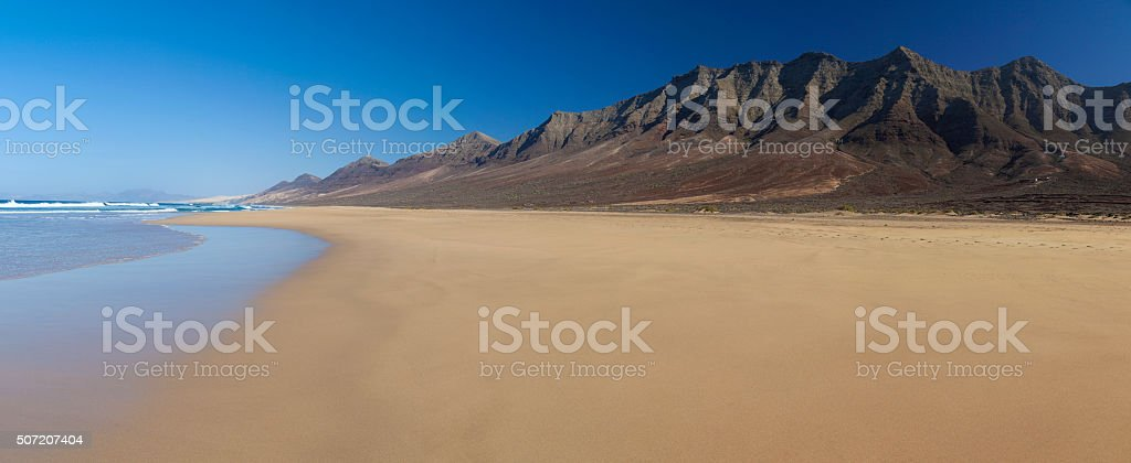 Fuerteventura, Canary Islands, Cofete beach stock photo
