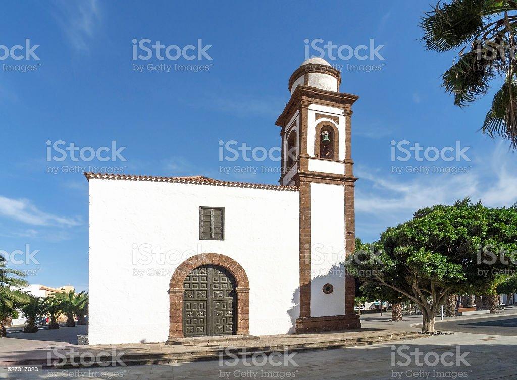 Fuerteventura - Church in Antigua royalty-free stock photo