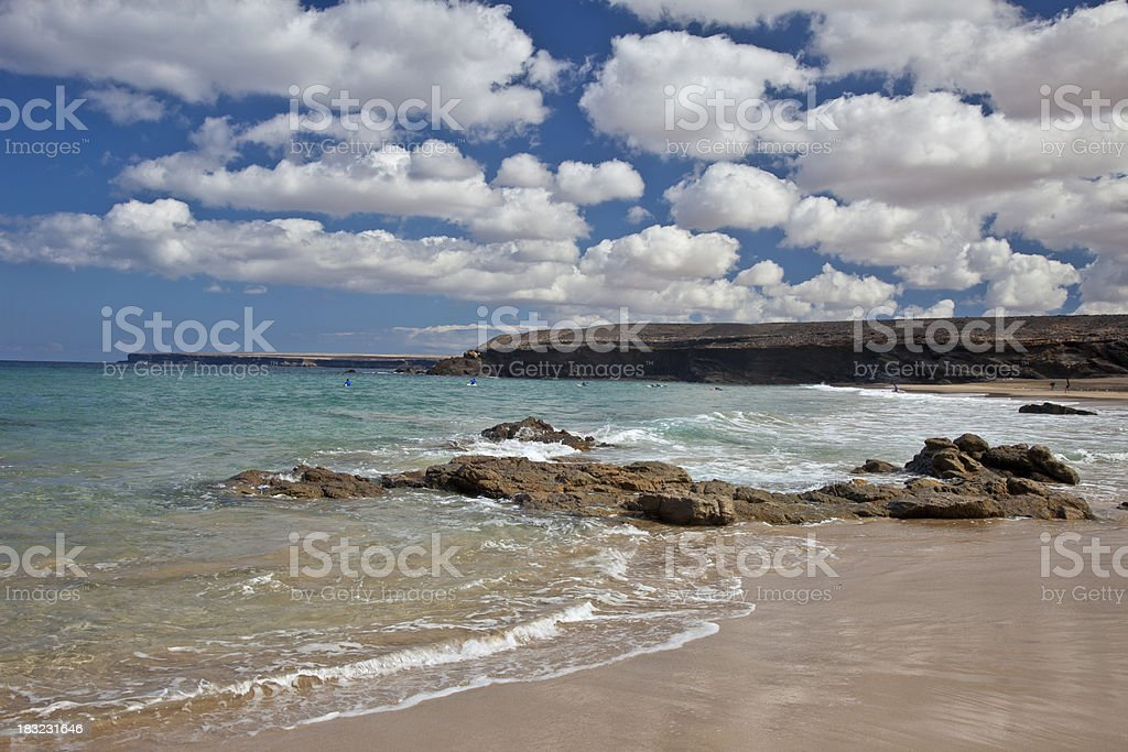 Fuerteventura Coastline (El Cotillo) stock photo
