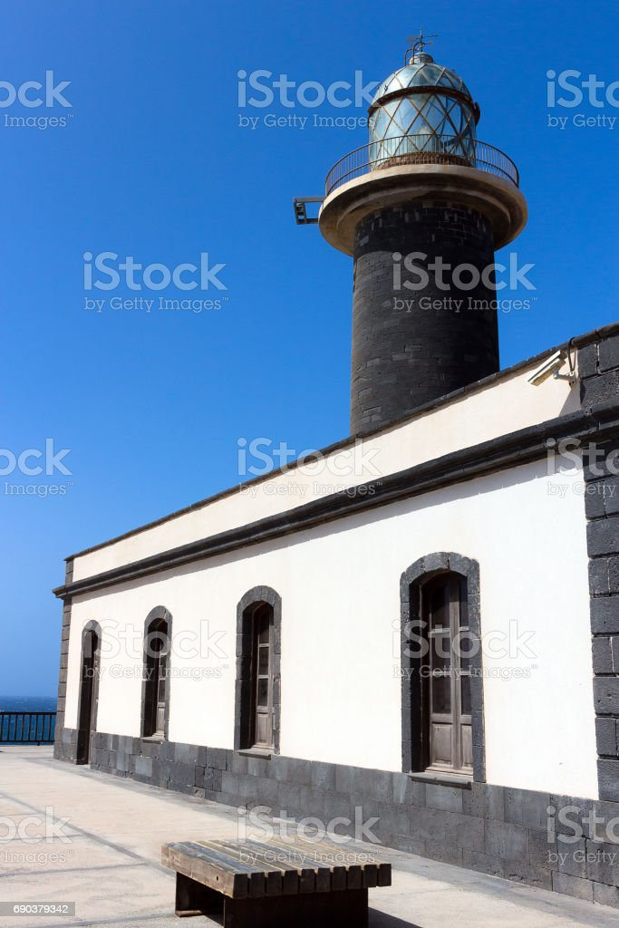 Fuerteventura - Lighthouse of Punta Jandia, Canary Islands stock photo