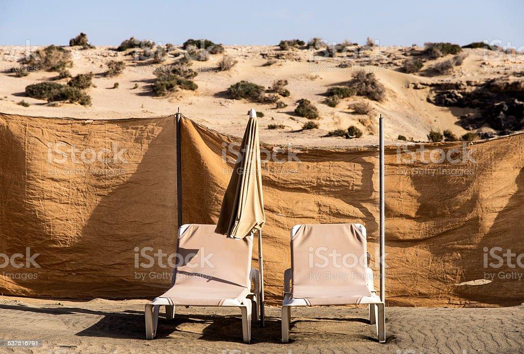 Fuerteventura, spiaggia stock photo