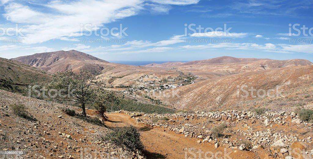 Fuerteventura - Valley of Betancuria royalty-free stock photo
