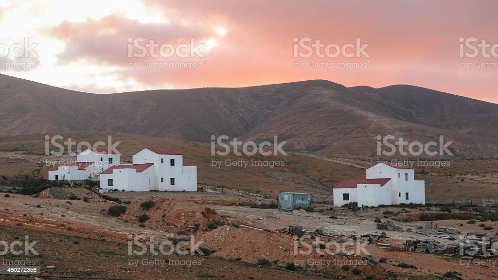 Fuerteventura village royalty-free stock photo