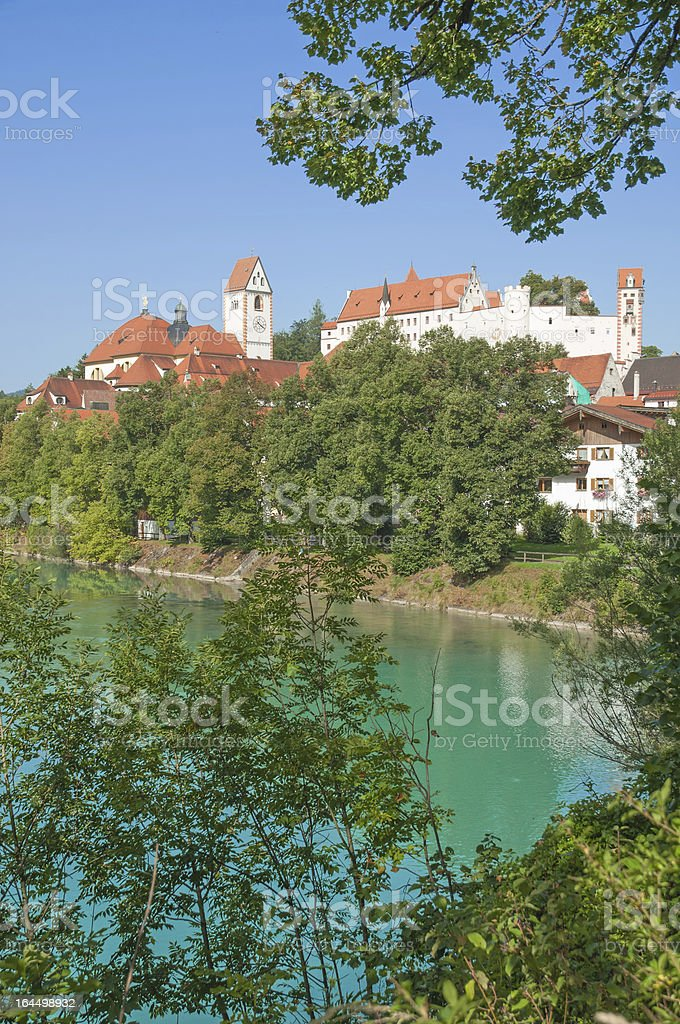 Fuessen,Bavaria,Germany royalty-free stock photo