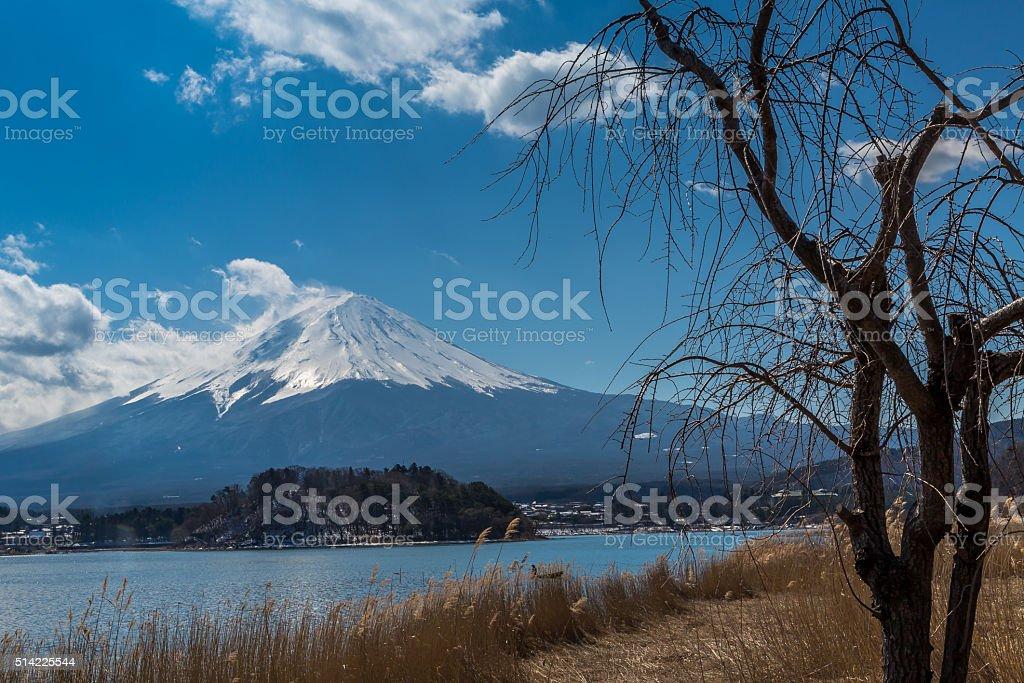 Fuji Five Lakes stock photo