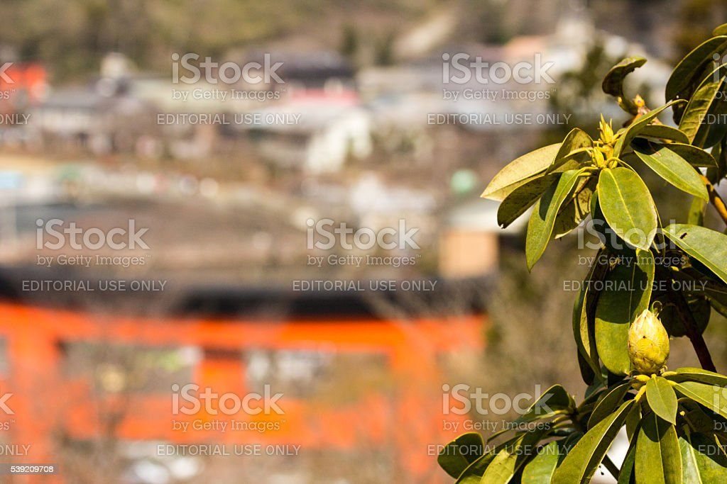 Fuji Hakone Izu National Park in Kanagawa Prefecture, Japan stock photo
