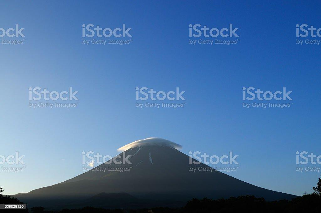 Fuji Mountain stock photo