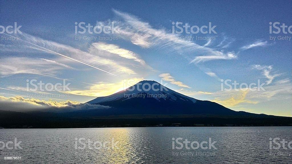 Fuji Moutain, Japan royalty-free stock photo