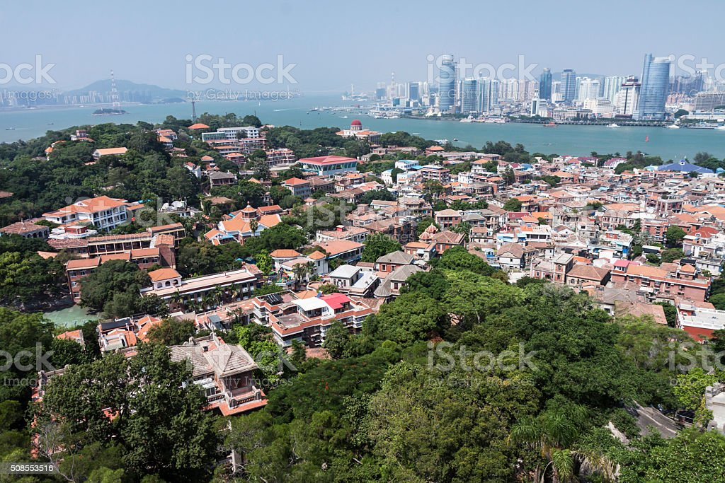 Fujian province,xiamen Cityscape, stock photo