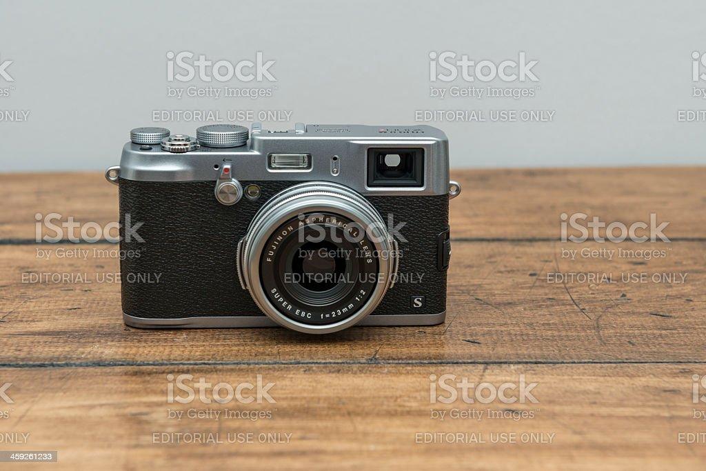 FujiFilm X100s Digital Camera royalty-free stock photo